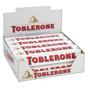 White Chocolate Toblerone bars Giveaway!