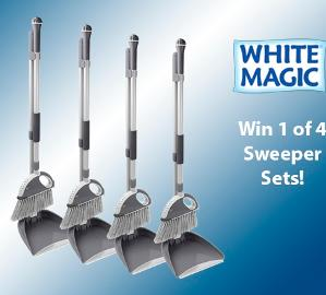 White Magic Sweeper Sets Giveaway - Australia Residents Only