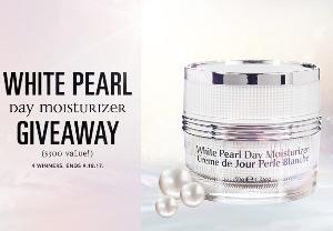 White Pearl Day Moisturizer Giveaway