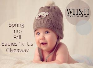 WHOLE HEART & HOME'S $200 BABIES R US GIFT CARD GIVEAWAY