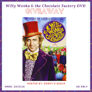 Willy Wonka & the Chocolate Factory DVD Giveaway