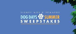 Win $1,000.00 Disney Store Gift Card, 12 Disney dog movies and $25 Petco Gift Card