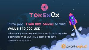 Win 1'000'000 TOKN - Tokens Valued at $10'000 USD Worldwide Giveaway Image