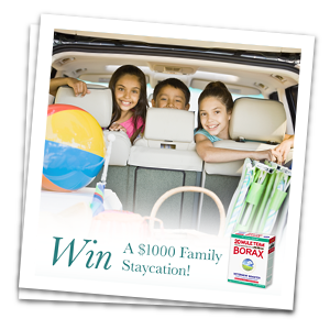 Win $1,000 Airfare Gift Card and a Year's Supply of 20 Mule Team Borax