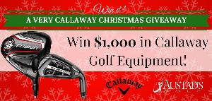 WIN: $1,000 in brand new Callaway golf equipment