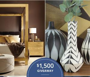 Win $1,500 to Kathy Kuo Home's Collection