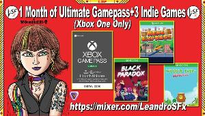 Win  1 Month Ultimate Gamepass+3 indie Games(Xbox One)!!