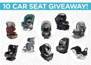 Win 1 of 10 Carseats