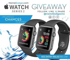 Win 1 of 2 Apple Watch Series 2