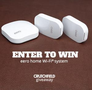Win 1 of 2 eero Home Wifi Mesh Network Systems