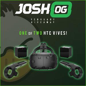 Win 1 of 2 HTC Vives