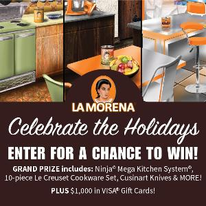 Win 1 of 2 Kitchen Makeovers or $100 Visa Gift Card (10 winners)