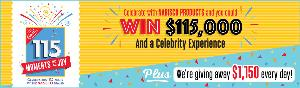 Win 1 of 2 prizes of $115,000 or Daily Prizes of $1,150 - 117 Winners Total