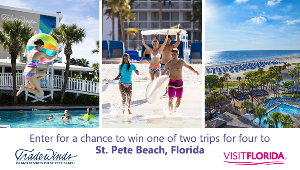 Win 1 of 2 Trips for Four to St Pete Beach, Florida
