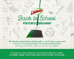 Win 1 of 20 Libman Products prize pack