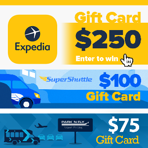 Win 1 of 3 Travel Prizes!