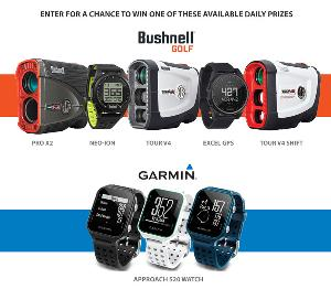 Win 1 of 30 GPS and rangefinder devices