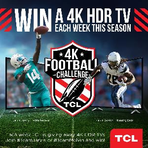 Win 1 of 34 TCL TVs
