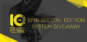Win 1 of 4 Special Edition ZOTAC PCs