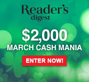 Win 1 of 5 $400 Cash Prizes