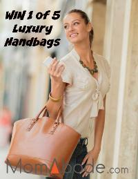 WIN 1 of 5 Luxury Handbags From MomAbode