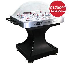 WIN 1 OF 6 TABLE HOCKEY GAMES!""