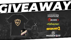 Win 1 Tub of Juggernaut Energy ; 1 Juggernaut Energy Shirt ; Any Game Any Platform (Standard Version).