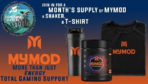 Win 1 Tub of MyMOD, 1 T-shirt, & 1 Shaker, with LongboatGaming!