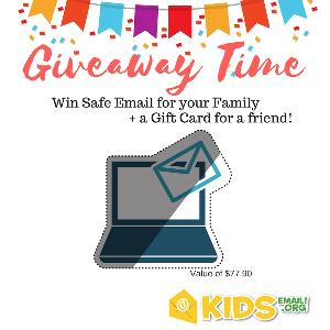 Win 1 Year Of KidsEmail PLUS A Gift Card For A Friend