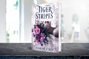 Win $100 Amazon Gift Card & 10 winners win a  Free Signed Copy of Tiger Stripes by Hannah Renae!