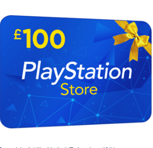 Win £100 PlayStation Store Voucher