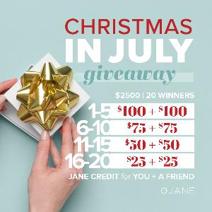 Win $100 to Jane.com For you and a Friend - $2,500 in prizes