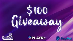 Win $100 USD - PayPal!