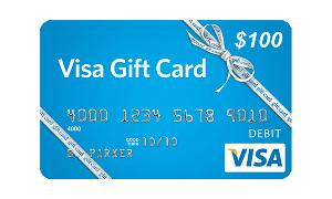 Win $100 Visa Gift Card