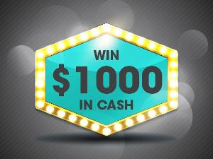 Win $1000  no pic just text