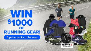 Win $1000 of Running Gear