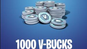 Win 1000 V-BUCKS for Xbox One