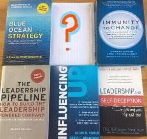 Win $125 Worth of Leadership Books that will Raise Your Game 10/18 WW