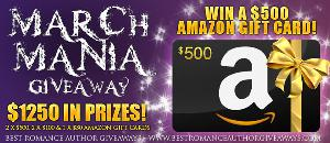 Win $1250 in Amazon Gift Cards - 5 Winners