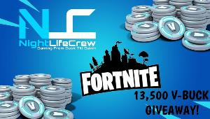 Win 13,500 V-Bucks for New Fortnite Season!!