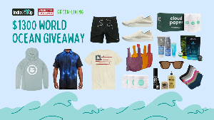 Win $1300+ worth of sustainable and ethically sourced products to raise awareness for WILDCOAST! Bagito | Gift Card |$75, OTIS Eyewear | Summer of 67 Eco | $240, Jetty | Gift Card | $250, Munjoi | The All-Dai Shoe | The All-Dai Shoe | $98...+lots more!!