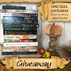 Win 14 SIGNED PAPERBACK BOOKS!!