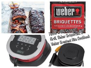 Win $150 in Weber Products, iGrill, Weber Cookbook and more