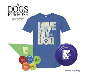Win $150 Visa Gift Card and Dog's Purpose Prize Pack