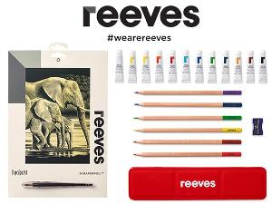 WIN $150 WORTH OF ART SUPPLIES FROM REEVES!
