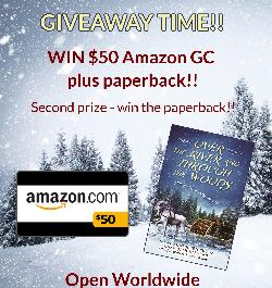 Win 1st Prize $50 Amazon GC and paperback / 2nd Prize - paperback