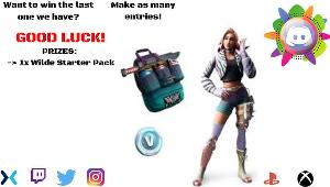 Win  1x Wilde Starter Pack(XBOX ONLY!)!!
