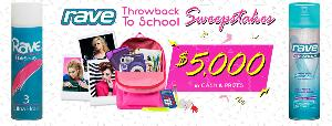 Win $2,500 Cash and a Throwback School Prize Pack