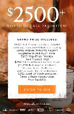 Win $2,500+ Worth of Fall Favorites!!