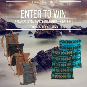 WIN: 2 Blankets & a Day Pack from Bradley Mountain!